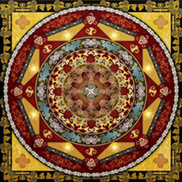 5D Diamond Painting Religion Diamond Embroidery Kit Mandala Patterns ...