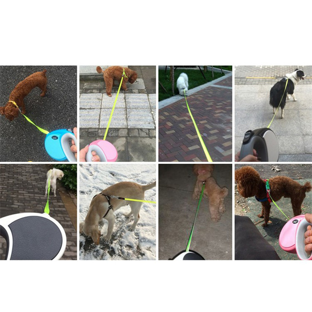 2017 Best Sale Pet Dog Leash Retractable dog Collar leash Products Dog Harness Dele Pet Dog Chain Collars 3M 4M 5M 7M