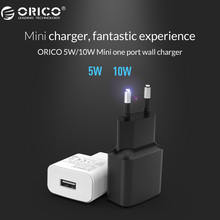 ORICO WHA USB Charger 2A 1A Travel Wall Charger Adapter 5W 10W Portable Smart Mobile Phone Charger EU Plug