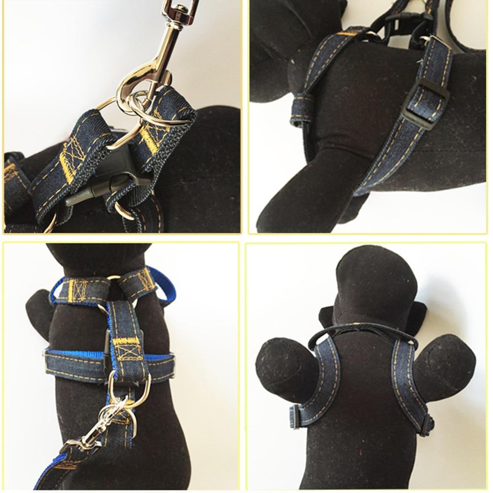 ULTRASONE HUISDIEREN Hond Jean Harness Met Lead Leash Controle - Producten voor huisdieren - Foto 2