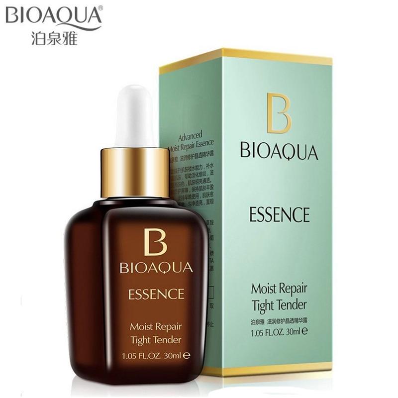 BIOAQUA טיפוח העור מותג חומצה היאלורונית נוזל נגד קמטים סרום הלבנת לחות אנטי אייג 'ינג קולגן טהור תמצית שמן
