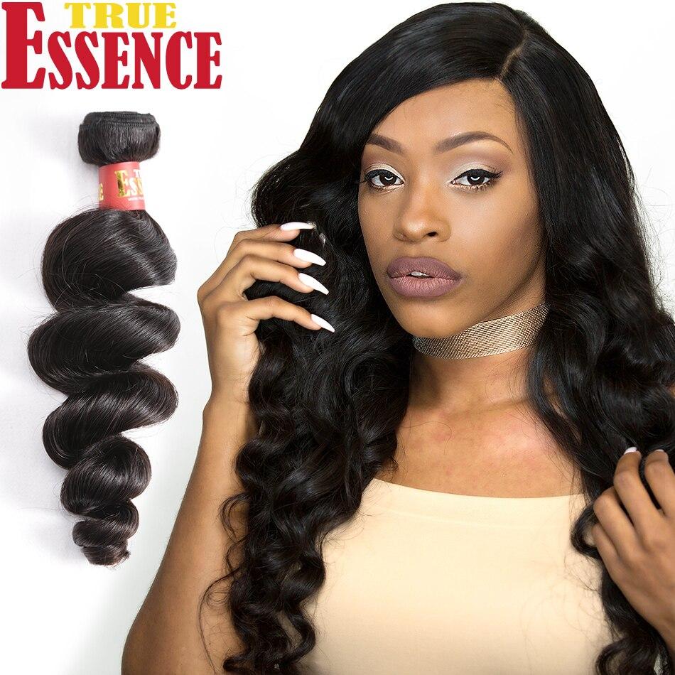 Aliexpress Buy True Essence Hair Brazilian Loose Wave Virgin
