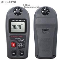 Digital Anemometer 0-30m/s Handheld Wind Speed Measurement Anemometro LCD Wind Meter Speed Monitor m/s km/h mph knots ft/min