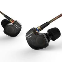 Original KZ ATE 3 5mm In Ear Earphones Copper Driver HiFi Sport Headphones In Ear Earphone