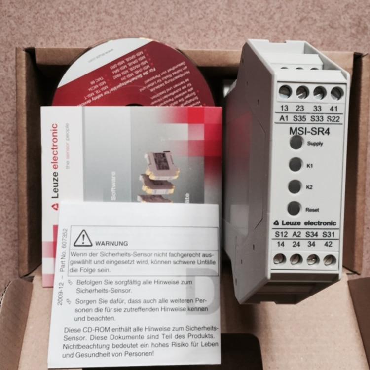 Safety Relay MSI-SR4 Position Sensor Isolation Gate MSI-SR5