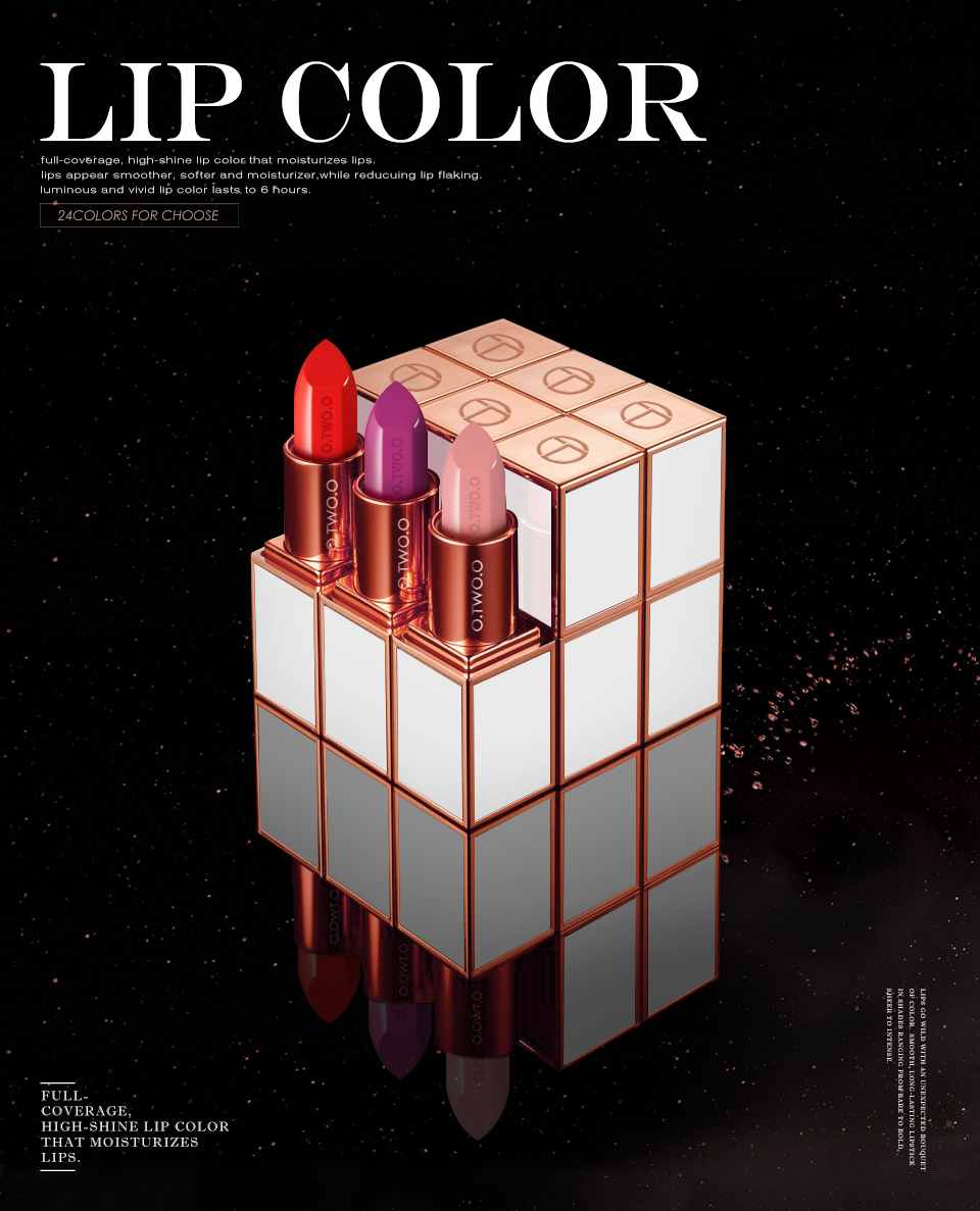 O.TWO.O® 24 Ultra Rich Colors Lipstick