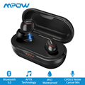[Upgraded] Mpow T5 TWS Bluetooth 5.0 Earphone Wireless Earphones IPX7 Waterproof AptX Earphone With CVC8.0 Noise Canceling Mic