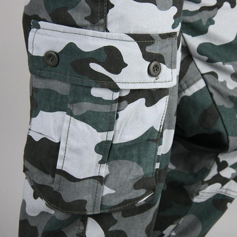 HTB1eWNaak7mBKNjSZFyq6zydFXay Camouflage Pants Men Casual Camo Cargo Trousers Hip Hop Joggers Streetwear Pantalon Homme Multi-pocket Military Tactical Pants