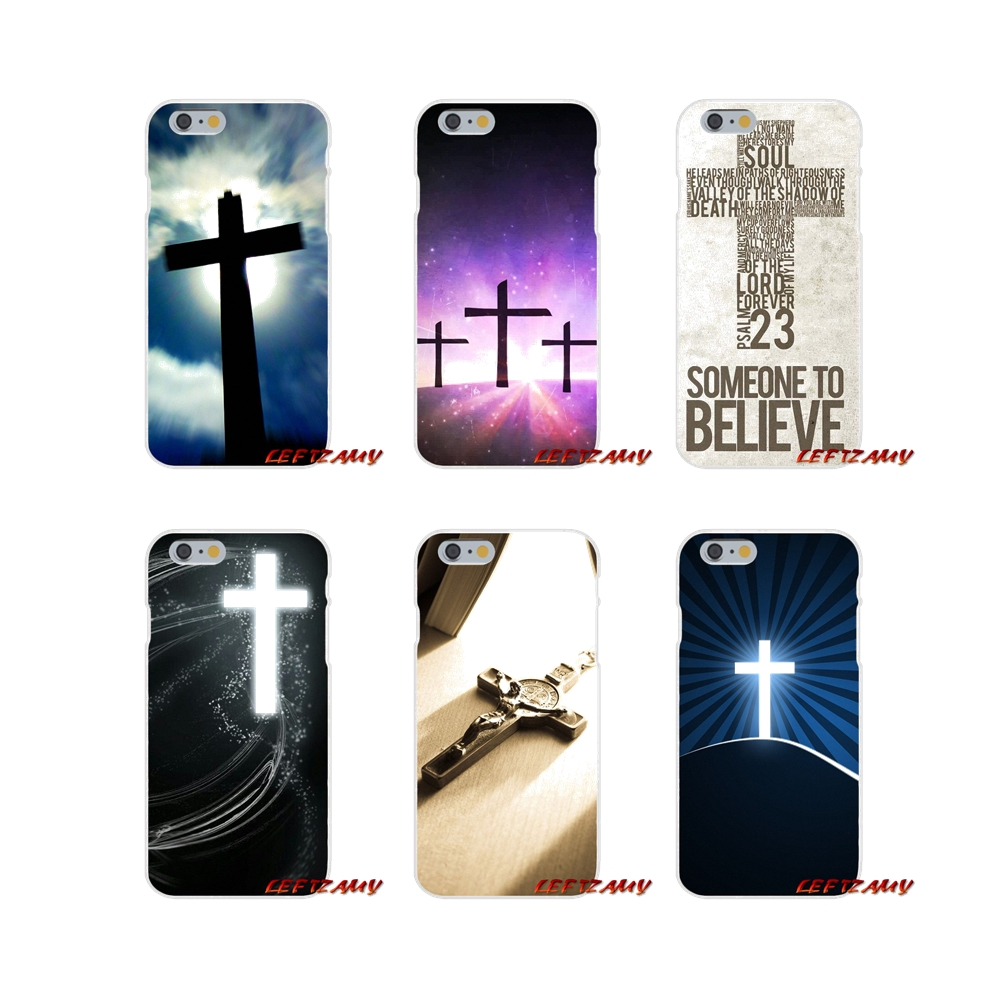 Cross On Bible Christian Original Silicone Phone Cover Bag For Samsung Galaxy S3 S4 S5 MINI S6 S7 edge S8 S9 Plus Note 2 3 4 5 8