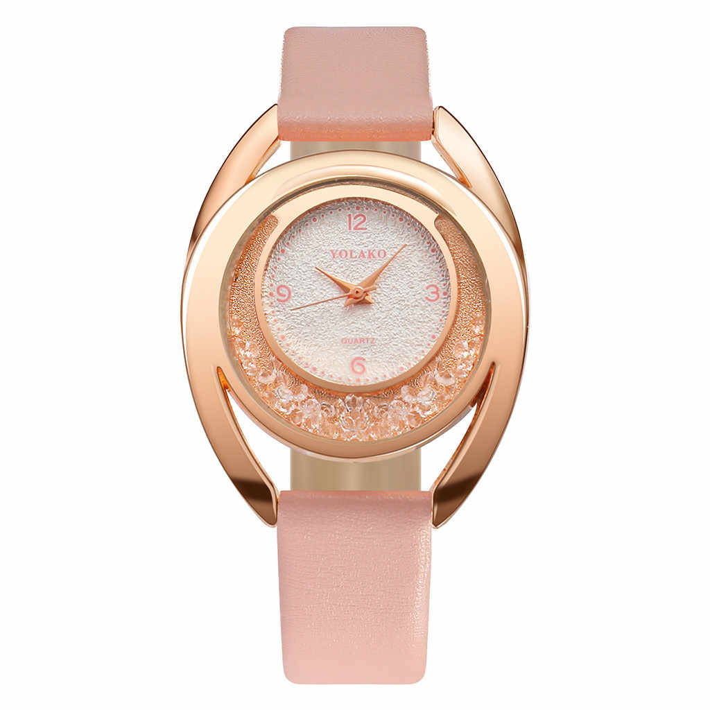 Mulheres Relógios pulseira de couro de Luxo 2019 Minimalista vestido de Damas relógio Para As Mulheres Relógio de Ouro Horas Presentes relogio feminino