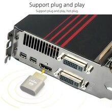 בלוק צלחת מזויף בלי ראש תצוגת אמולטור מחבר 1920x1080 4K קטן Dummy תקע מחשב אביזרי VGA וירטואלי נעילה HDMI