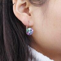 2015 Earings Fashion Jewelry Famous Brand Austrian Crystal Earring Gold Plated Stud Earrings For Women Bijoux