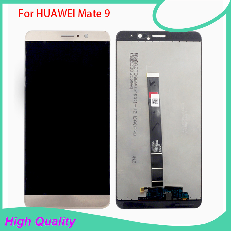 Original For Huawei Mate 9 mate9 LCD Display Touch Screen Digitizer Glass Sensor Assembly Replacement Parts Free Tools brand new lcd display touch screen digitizer assembly for huawei ascend p8 lite replacement parts