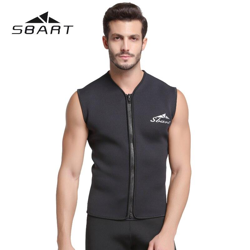 5 MM néoprène combinaison gilet veste hommes sans manches gilet Zipper combinaison étanche combinaisons hauts surf chaud crème solaire combinaison éruption