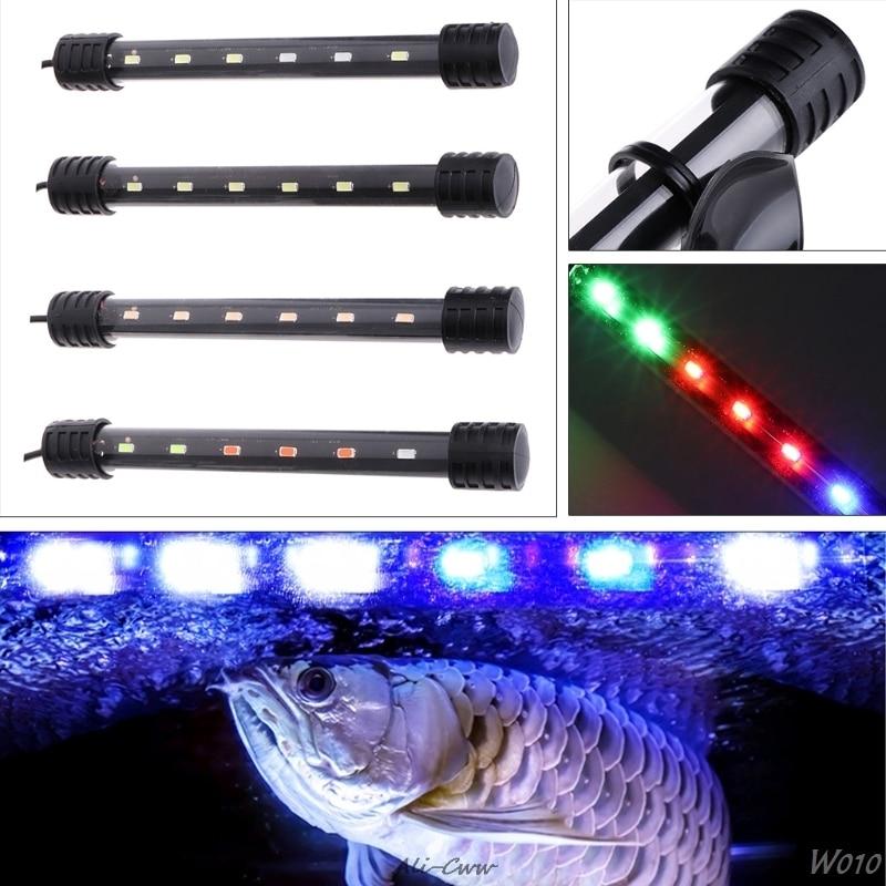3.5W Submersible Waterproof Aquarium Fish Tank LED Light Bar Lamp Strip EU Plug M09 dropshipping