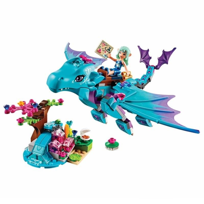 Бела 10500 фея серии воды Дракон Приключения рисунок Конструкторы строительство кирпичи Игрушечные лошадки для детей Совместимые legoe