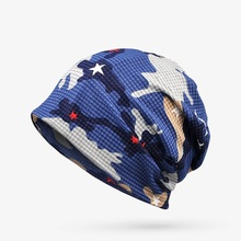 2017 New arrival  Multi Purpose beanie&Scarf  Casual hat for Men Women Hip-hop cap for autum spring Camouflage hats hot sale print women s hat scarf stripped hip hop beanie spring