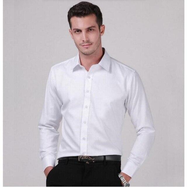 Новый Конструктор Мужская Рубашка на заказ Camisa Длинным Рукавом Slim Fit Мужская Рубашка высокое качество формальный повод