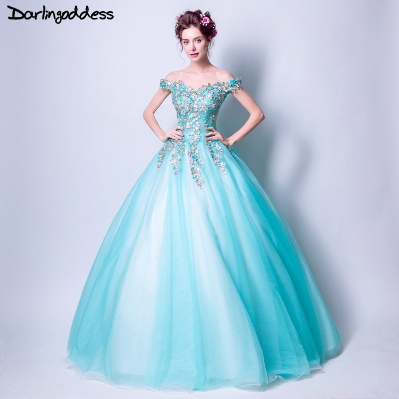 Elegant Embroidery Embellishment Ball Gown Traditional: Aliexpress.com : Buy Darlingoddess Elegant Long Evening