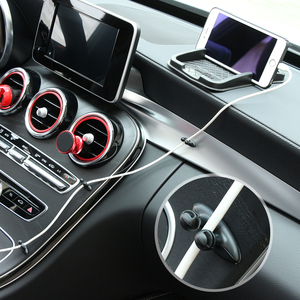 Image 5 - 8 PCS Car Charger สาย Clamp Clamp หูฟัง/USB Cable Car Clip สำหรับ Skoda Rapid Octavia A2 A5 ฿ a7 Yeti Fabia Scout kodiaq
