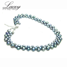 LACEY Freshwater pearl necklace jewelry for women,real natural fine wife mother birthday gifts