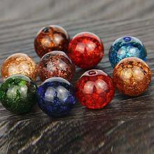 20 шт Круглые разноцветные Серьги diy браслет колье ожерелье