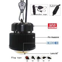 CXB3590 3500K Veg/Bloom Full spectrum led grow light Cold forged radiator heatsink directly use