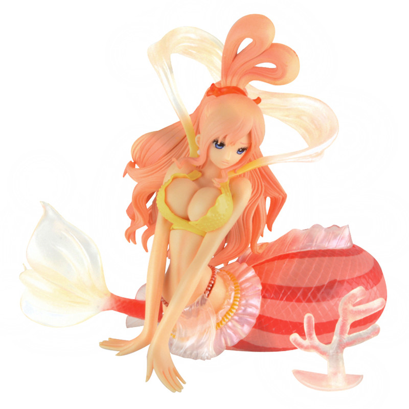 Starz Anime One Piece Figure Mermaid Princess Shirahoshi PVC Sexy Action Figure the Grandline Lady-Special Model Collection Toys anime one piece pop limited edition princess shirahoshi pvc action figure collectible model toy 28cm kt2369