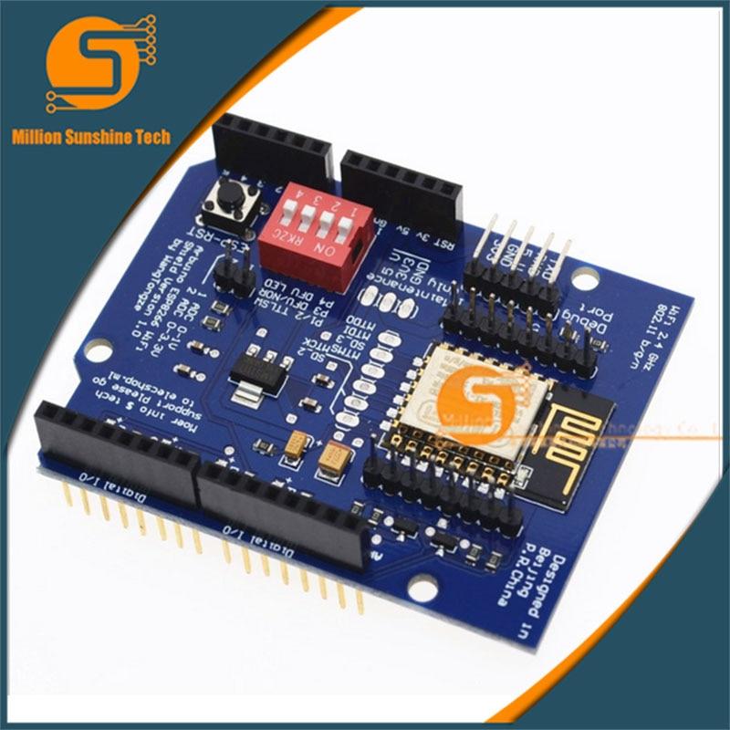 UNO R3 ESP8266 Web Sever serial WiFi expansion board shiled ESP-12E