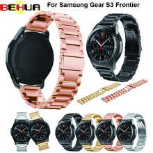 New Watch band Stainless Steel Strap For Samsung Gear S3 Band Replacement Wristbands Classic Frontier free shipping