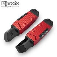 Pair Motorcycle Foot Rest Foot Peg Pedal Rear Footrests For Honda CBR600 F4 CBR 600 F4I CBR600RR CBR 600 RR F5 CBR10000RR