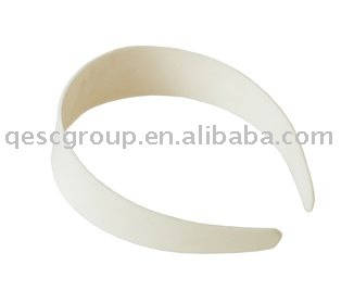 FREE SHIPPING 3 8cm white PLASTIC HEADBAND in wholesale price 85pcs lot use for fascinator white