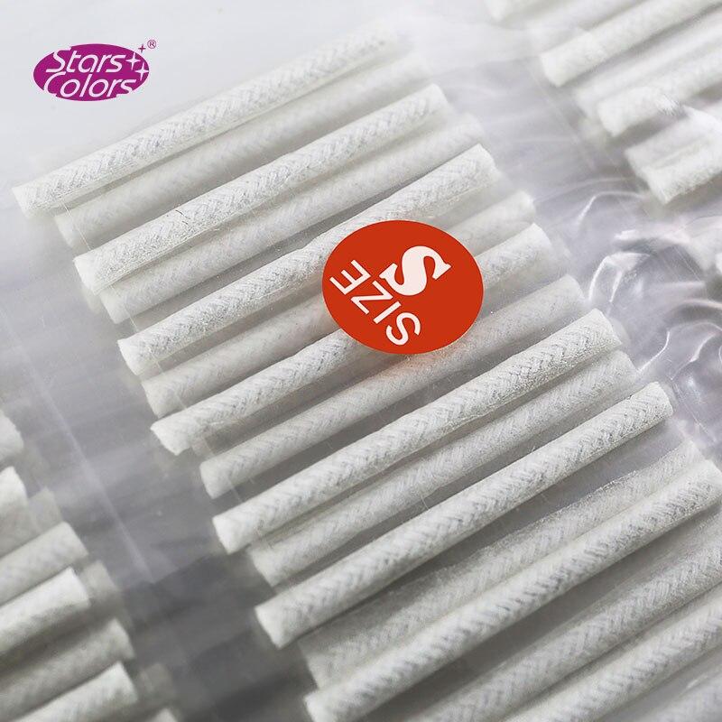 160 Pairs/bag Perm Pole For Eyelash Extension White Perm Pole Eye Pads For Grafting Eyelash Make Up Tools