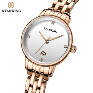 Image 4 - STARKING Luxury Fashion Women Watches Stainless Steel Relojes Mujer Dress Lady Watch Quarts Wrist Watches 2019 NEW