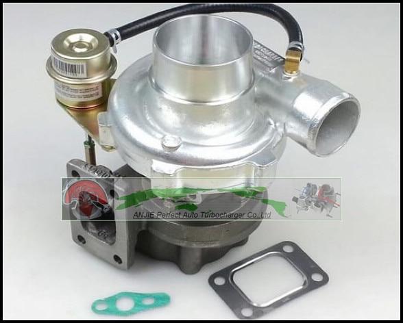 Free Ship GT2860 Water Cooled Float bearing Turbo Com AR 0.60 Turbine 0.64 Turbocharger For NISSAN S13 S14 S15 CA18DET T25 400HP free ship turbo rhf5 8973737771 897373 7771 turbo turbine turbocharger for isuzu d max d max h warner 4ja1t 4ja1 t 4ja1 t engine