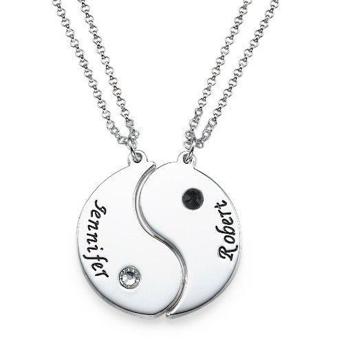Personality Yin Yang Pendant Necklace New Arrival Handmade High Quality Long Necklace Jewelry Custom Made Any Name YP2755