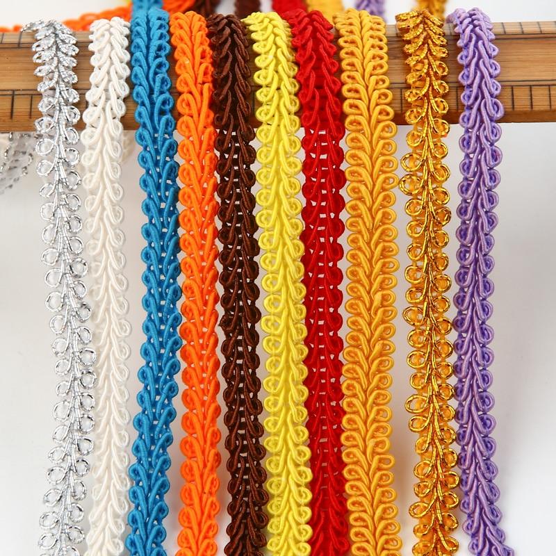 5Yds Vintage Lace Trims Handicrafts Fringe Ribbon Antique Sewing DIY Doll Dress