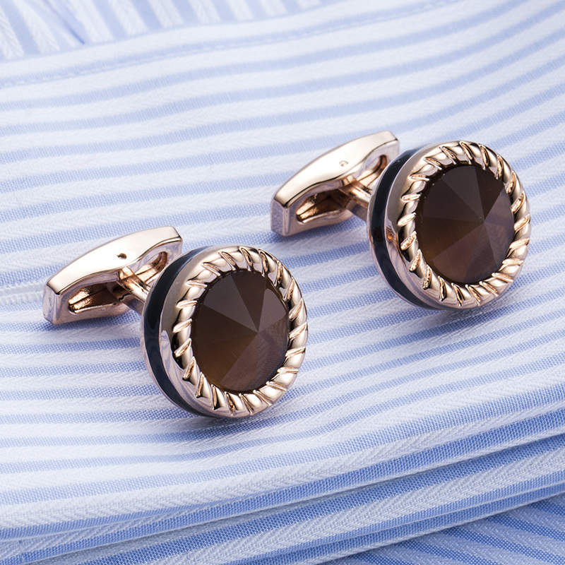 VAGULA High Quality Cufflinks New Designer Gemelos Men Cuff Links Wholesale Jewelry Drop Shipping 52506