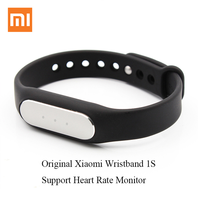 100% Original Xiaomi Mi Band 1S Bluetooth Fitness Bracelet Heart Rate Pulse Support Fashion Smart Wristband for Android and IOS