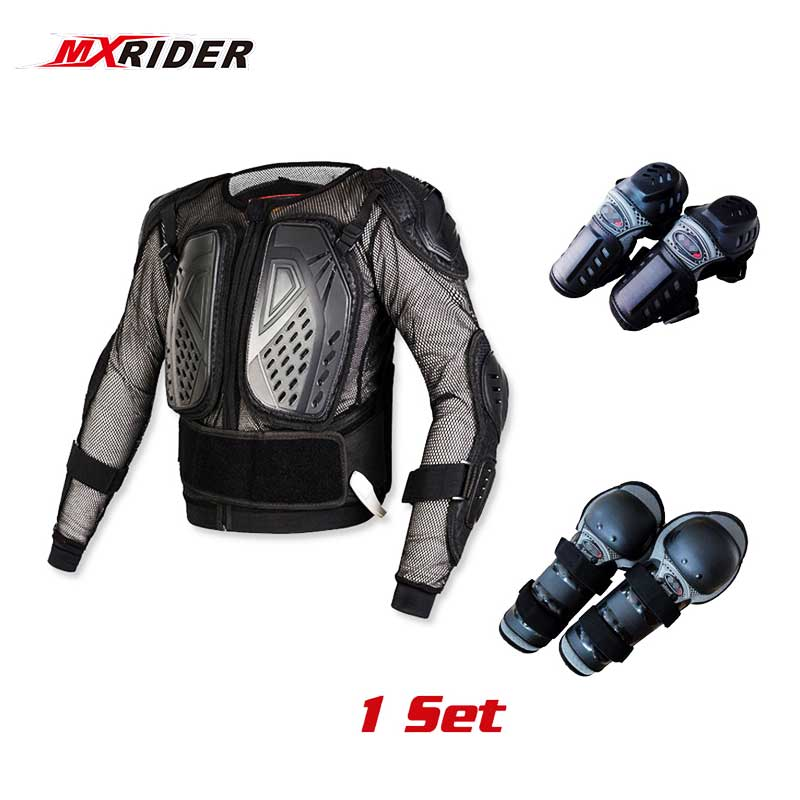 Shoulder,Back 1 Set Body Protector Pad Motorcycle Clothing Armour For Elbow