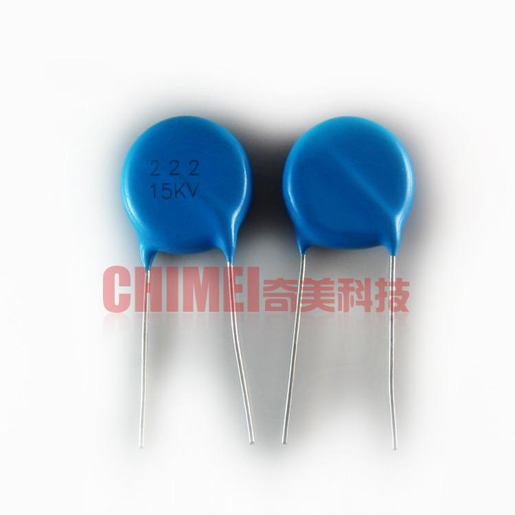 High-voltage Ceramic Capacitors 15KV 222K Argon Arc Welding Machine Arc 15KV222 2200PF