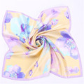 winter scarf women 2016 fashion Stewardess Real silk printing Pastoral style Multi purpose bandana horse hijab shawl silk scarf