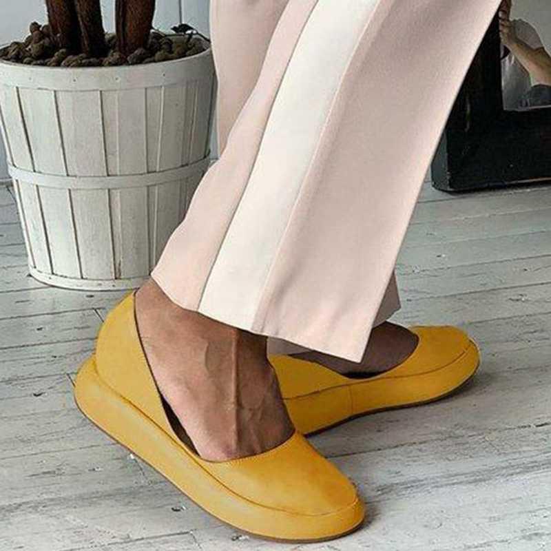 Litthing Casual Delle Donne Piatto Sandali di Estate Delle Signore Peep Toe Fascia Elastica Scarpa Piattaforma di Modo Più Il Formato Femmina Calzature 2019 Nuovo