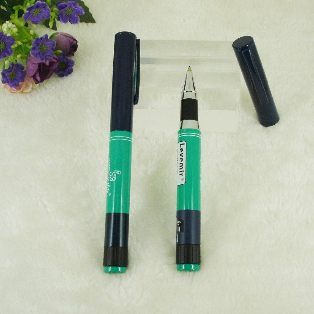 الأنسولين نمط حبر القلم الأسطوانة المعدنية القلم الأخضر فئة الطب التصميم السلس الكتابة أقلام مكتبية السائل الأسطوانة Ink For Fountain Pen Ink Pen Colorsink Pen Tattoo Aliexpress