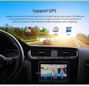 "Image 2 - 9 ""HD Android 8.1 Auto DVD Stereo Spelen Voor Peugeot 208 2008 GPS Navigatie 2G RAM WIFI FM auto Radio Video Bluetooth Multimedia"