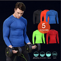Men's Cycling Jersey clothing Shirt Long Sleeve Bike Bicycle Base layer Underwear Winter Sports Wear Clothes Compression tights