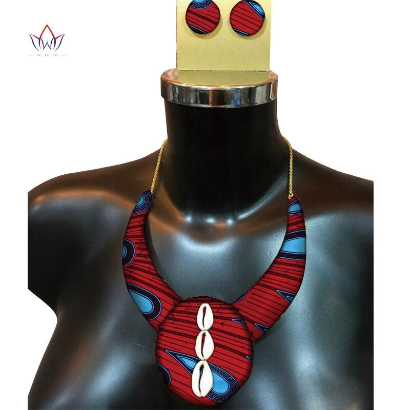 Анкара серьги и Цепочки и ожерелья Кулон Фэнтези Африканский воск печать на ткани Анкара Jewelry Handmde серьги и Цепочки и ожерелья WYb337