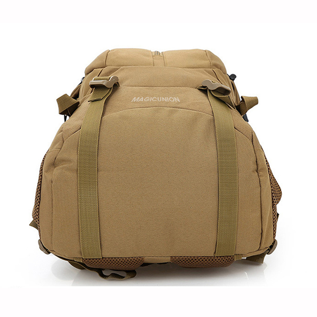 MAGIC UNION Men and Women Unisex Military Backpack Canvas Bag Trekking Rucksacks 40L Backpacks Men Backpacks Men Bags Fashion 4
