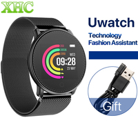 UMIDIGI Uwatch Smart Watch For Andriod IOS 64KB 512KB Passometer Heart Rate Monitor Fitness/Sleep Tracker 25 days Standby Time