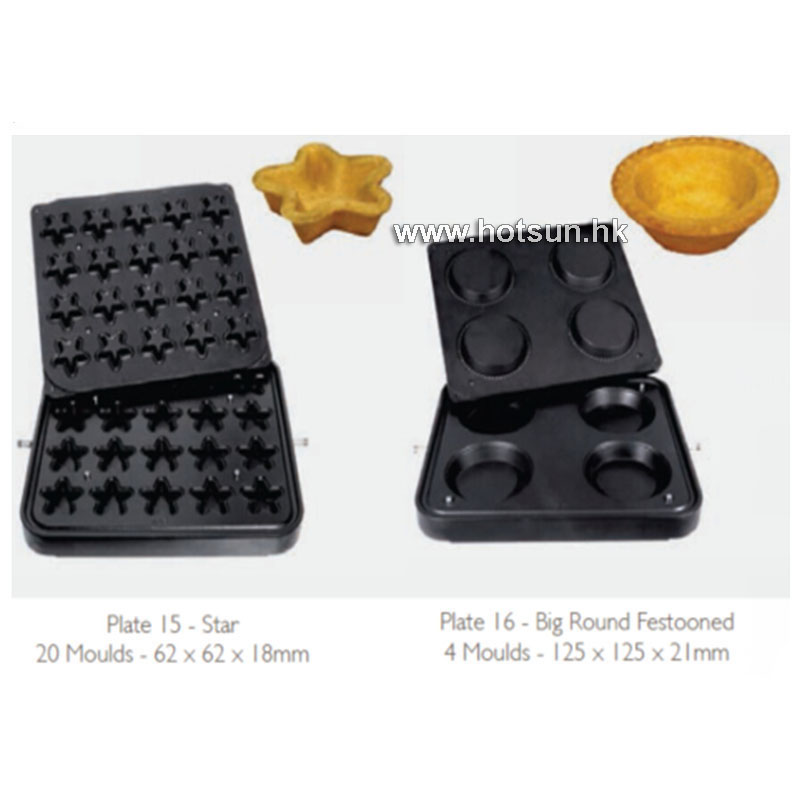 Free Shipping Non-stick Pastry Egg Tart Pan Pie Mold Plate Tartaletek Baking Plate to Replace for Tartle Waffle Machine